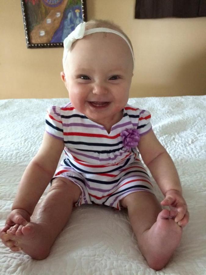 Eden, now 7 1/2 months old