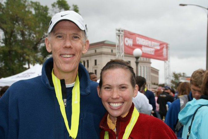 After running the Twin Cities Marathon together in 2009 with Team in Training (Leukemia and Lymphoma Society)