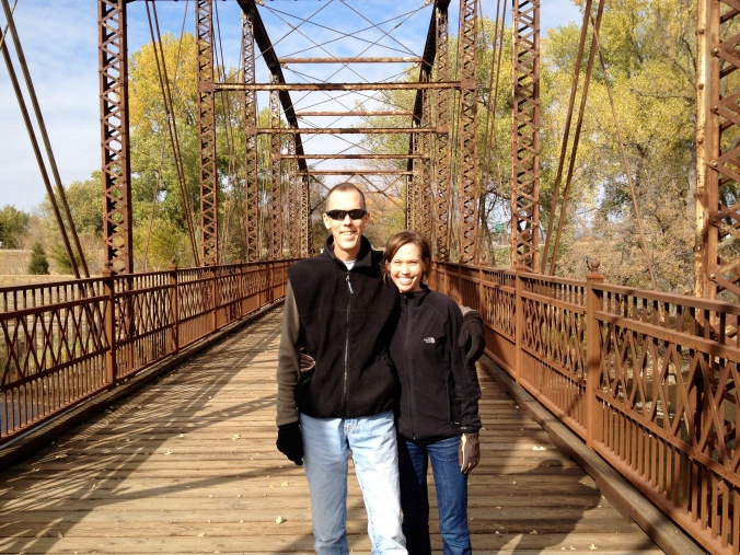 One of our favorite places to walk, run, and talk - the bike trail near the Outdoor Campus in Sioux Falls
